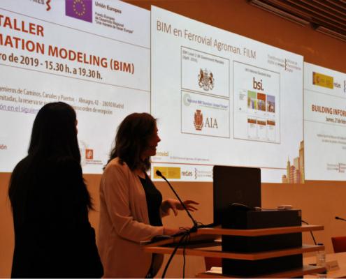 Ineco y Ferrovial iluminan el Taller BIM organizado por el CICCP