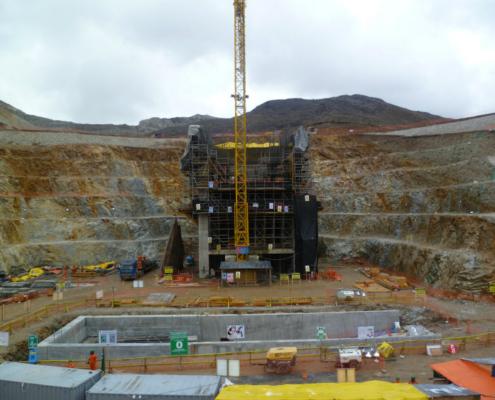ULMA en la construcción de la Mina a cielo abierto Toromocho de Perú