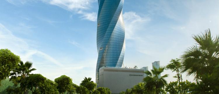 thyssenkrupp equipa la icónica United Tower de Bahréin con ascensores y escaleras mecánicas