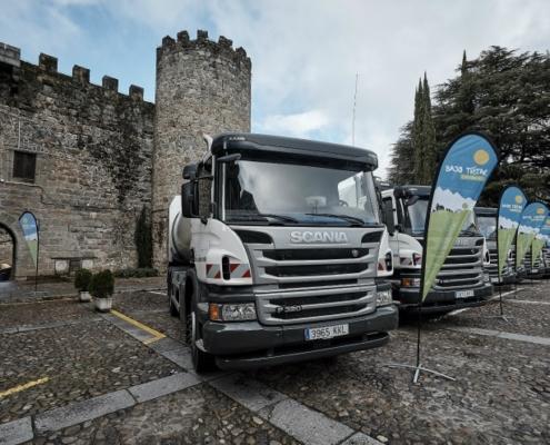 Seis nuevos vehículos Scania para la recogida de residuos del Bajo Tiétar
