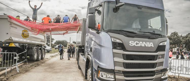 Vuelve la competición popular Farinato Transport Race by Scania