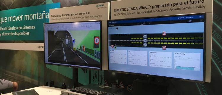 Siemens muestra el Túnel Digital en el VII Simposio de Túneles de Carretera