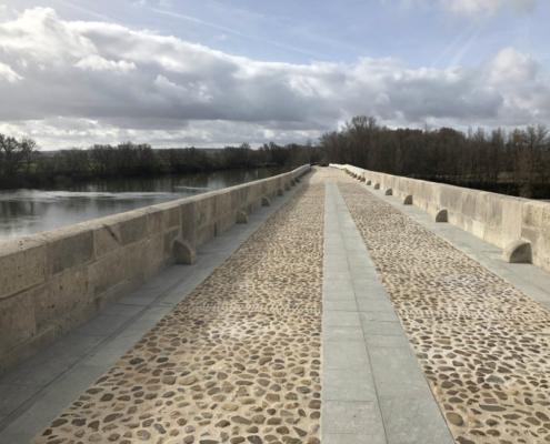 Se inauguran las obras de restauración del Puente Mayor de Toro