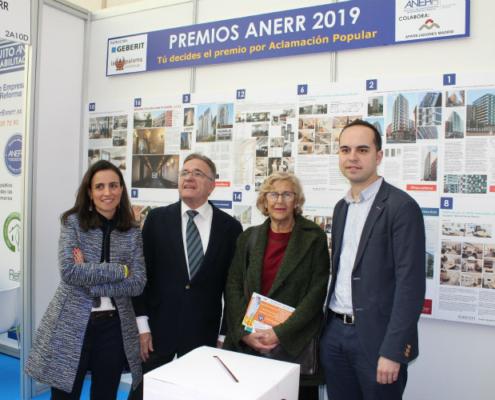 Premios ANERR 2019 de Rehabilitación y Reforma en Rehabitar Madrid
