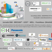 Jornada gratuita BIM - BREEAM - LEED - WELL - Passivhaus (Madrid)