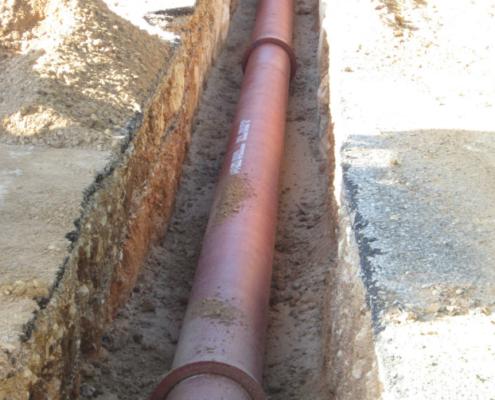 PAM mejora el saneamiento de Cala Morell con las tuberías de la gama INTEGRAL