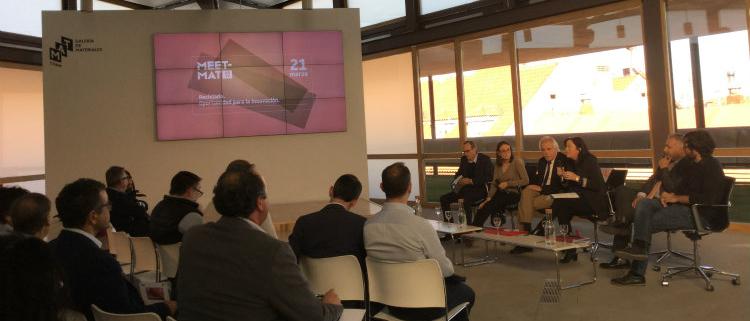 Placo en la jornada 'Reciclado, oportunidad para la innovación' del COAM