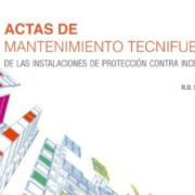 Se edita el libro Actas de Mantenimiento TECNIFUEGO