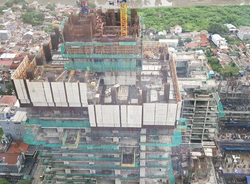 ULMA participa en el proyecto de construcción del rascacielos Thamrin Nine