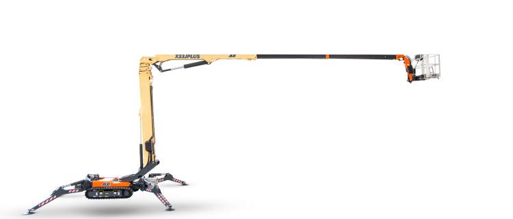 JLG anuncia la llegada la mercado de la plataforma de oruga compacta X33J Plus