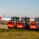 20 cargadoras Bobcat en el Aeropuerto Adolfo Suárez Madrid-Barajas