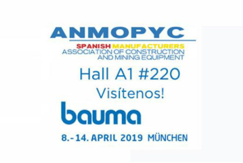 ANMOPYC preparada para la internacional bauma 2019