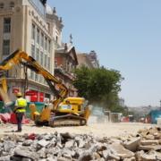 Anzeve realiza varios demotours con las máquinas de demolición