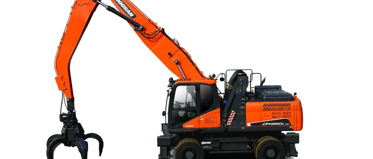 Nuevo manipulador de materiales Doosan DX250WMH-5