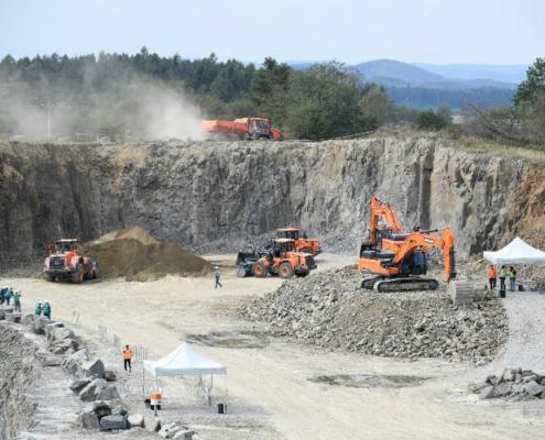 Récord de asistencia de clientes a Doosan Quarry Days 2018