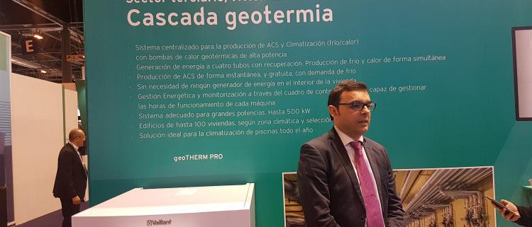 Vaillant presenta en C&R 2019 una nueva bomba de calor 'más eficiente y sostenible'