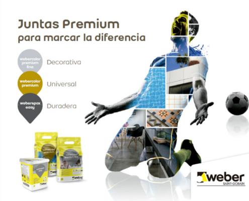 webercolor premium fina, la nueva junta para marcar la diferencia