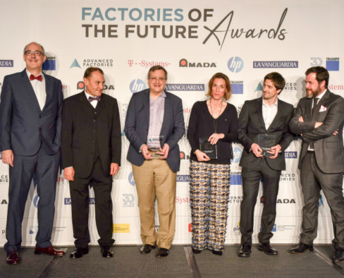 Finalistas de los Factories of the Future Awards 2019
