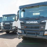 Comercial Iberoamericana de Servicios, S.A. incorpora 4 hormigoneras con chasis Scania