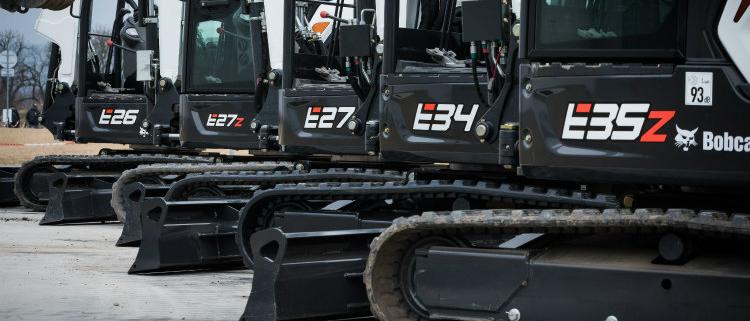 Bobcat líder en el segmento de excavadoras de cadenas de menos de 6 toneladas en España