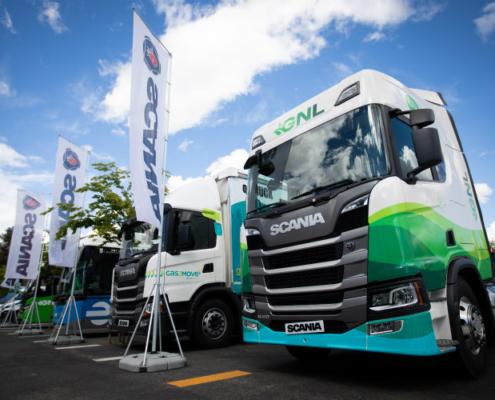 El autobús de GNL de Scania recibe el Premio a la Innovación en el VII congreso de GASNAM