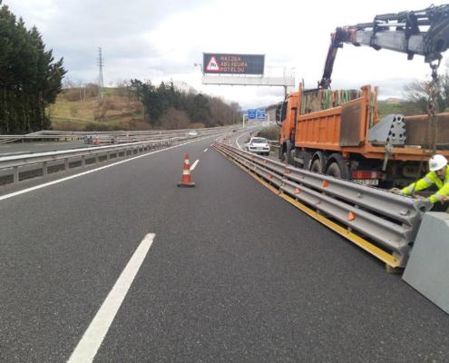 Itsak impulsa el uso de barreras de seguridad vial metálicas