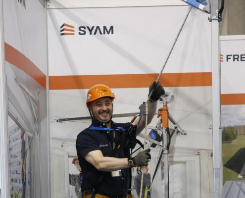 Laboralia premia el SYAM, un innovador sistema de anclaje móvil