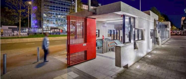 Renovación estación de Metro Oostlijn, Ámsterdam