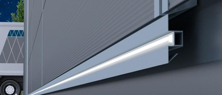 IsoLED: Paneles sándwich con sistema de iluminación LED