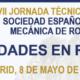 XVII Jornada Técnica Anual de la SEMR: Cavidades en Roca