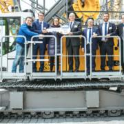 Liebherr entrega una nueva HS 8070 a Cimentaciones Abando