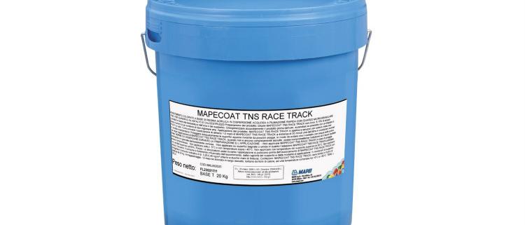 MAPECOAT TNS RACE TRACK: producto destacado de Mapei en marzo