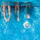 Tiempo de endurecimiento del adhesivo y del rejuntado en piscinas