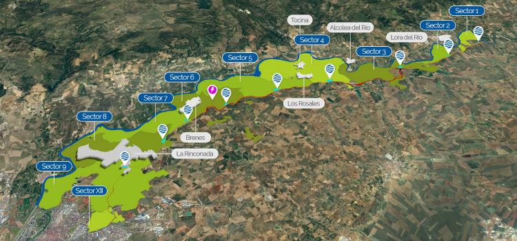 El sistema de telecontrol de riego del Valle Inferior del Guadalquivir cumple 10 años