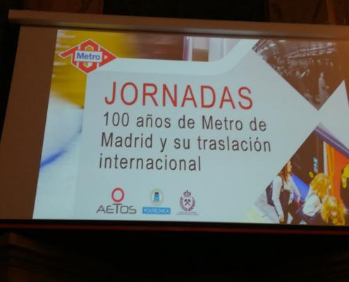 100 años de Metro de Madrid y su traslación internacional