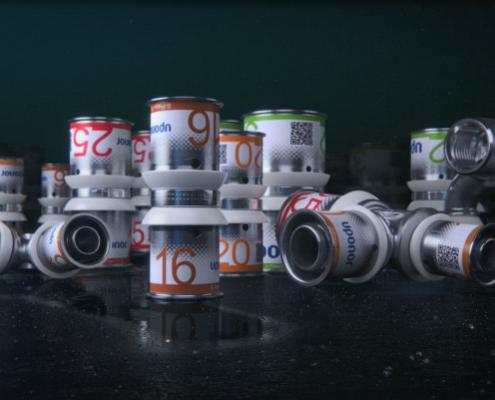Uponor lanza S-Press PLUS, la nueva gama de accesorios para tubería multicapa