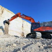 La excavadora Doosan DX300LC-5 gana el Premio al costo operativo más bajo