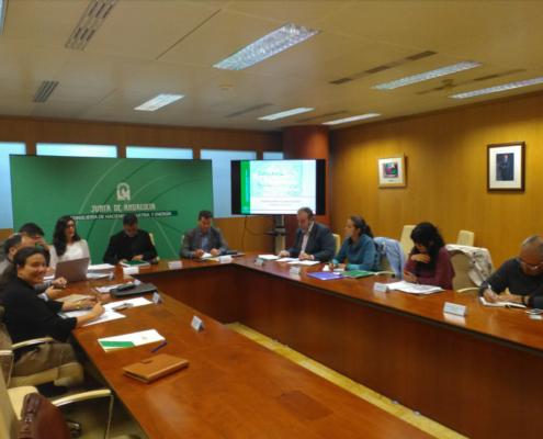 Aminer en el Equipo Dinamizador de la Estrategia Minera de Andalucía 2020