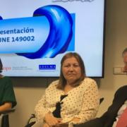 AEAS en la presentación de la norma UNE sobre productos desechables por el inodoro