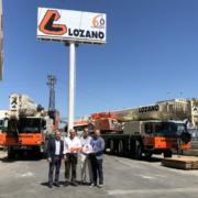 El Grupo Lozano adquiere dos nuevas grúas móviles de Liebherr