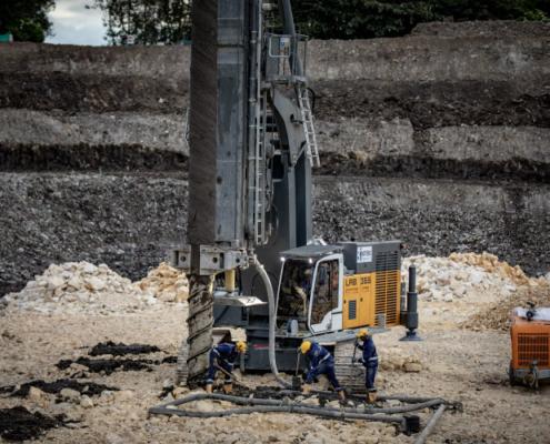 Ampliación de la planta de tratamiento de aguas residuales El Salitre de Bogotá