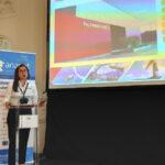 Cristina Bacchi, responsable de la división de Plataformas Aéreas en Palfinger Ibérica.