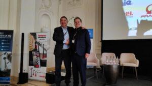 David Cagigas, presidente de Anapat y Tim Whiteman, CEO de Ipaf.