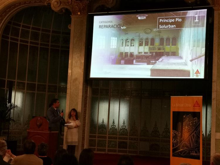 Entrega de premios de la XIII edición del concurso La Mejor Obra Sika