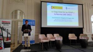 José Antonio Delgado-Echagüe Sell, jefe del Área de Seguridad Industrial de Industria, Comercio y Turismo.