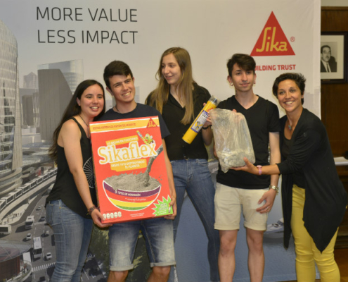 Galardones de la XXIV edición del Premio del Prontuario Sika para estudiantes de Arquitectura