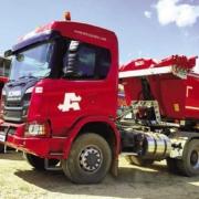 La gama de construcción XT de Scania se pone a prueba