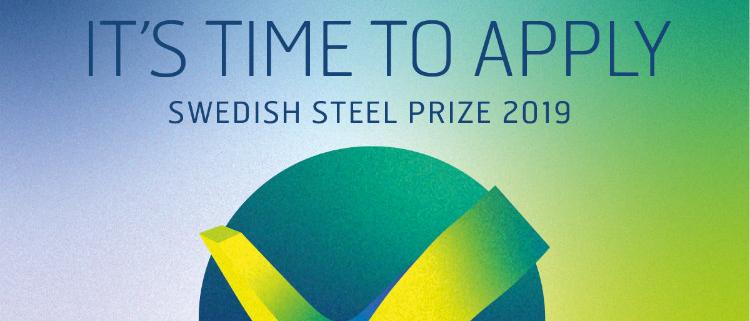 Abierta la convocatoria para optar al Swedish Steel Prize 2019