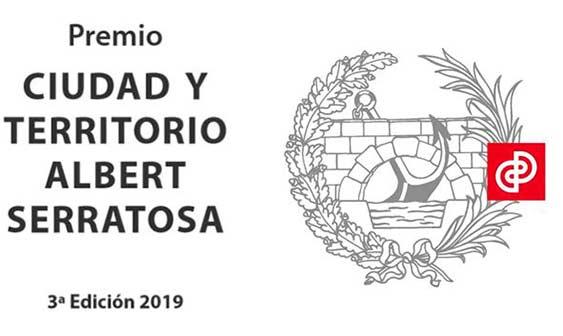 """Convocado el Premio """"Ciudad y Territorio Albert Serratosa"""" 2019"""