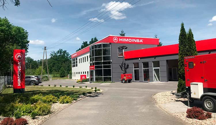 HIMOINSA inaugura sus nuevas instalaciones de 10.000 m2 en Polonia